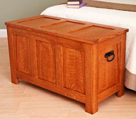 A Beauty of a Blanket Chest Woodworking Plan