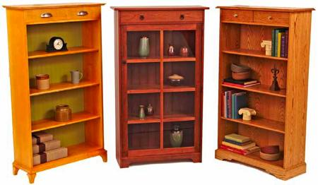 Have-it-your-way Bookcases Woodworking Plan