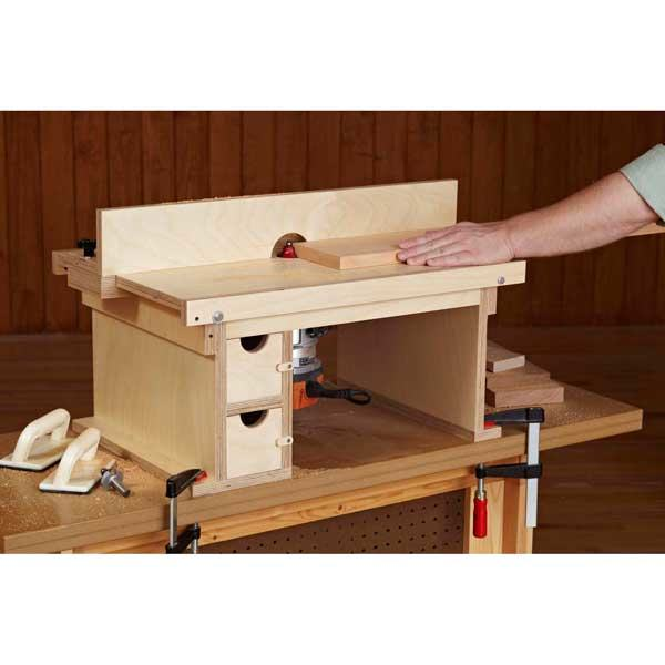Flip top bench top router table woodworking plan woodworkersworkshop flip top bench top router table woodworking plan keyboard keysfo Image collections