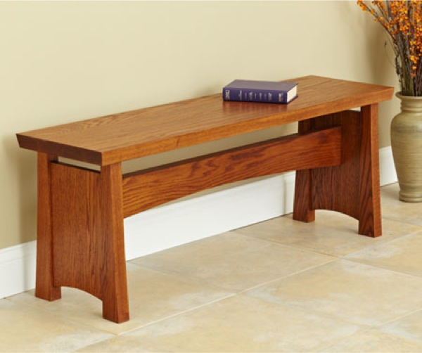 Traditional and Robust Seating Bench Woodworking Plan woodworking plan