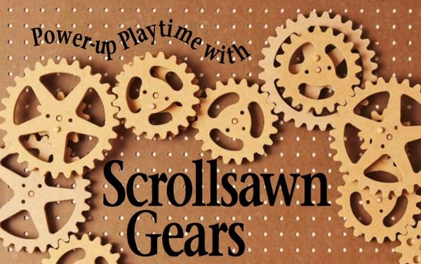 Scrollsawn Gears Woodworking Plan