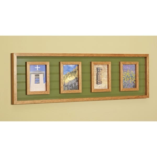 Picture Perfect Multi Frame Woodworking Plan
