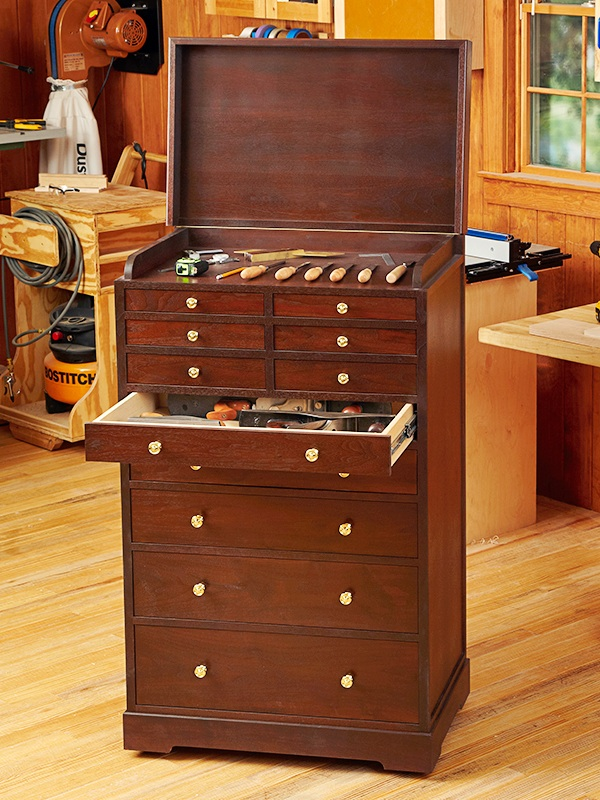 Rolling Tool Cabinet Woodworking Plan Woodworkersworkshop
