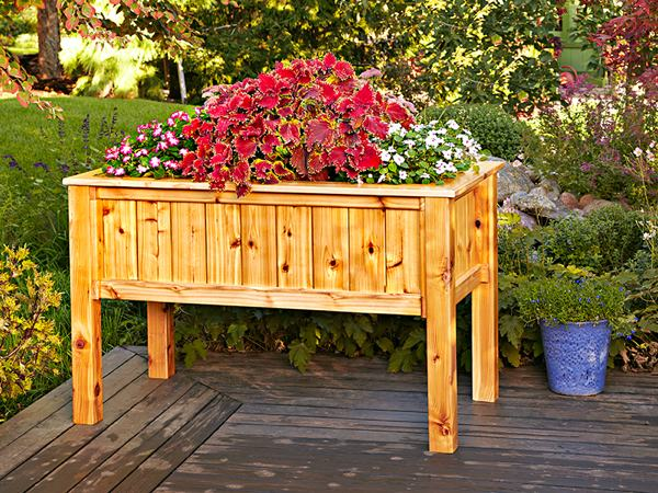 31-MD-00963 - Raised Planter Woodworking Plan.