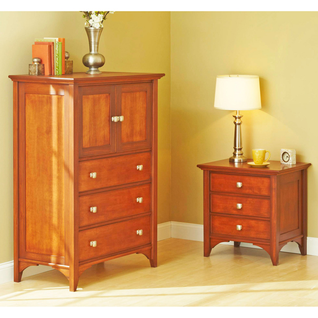 31-MD-00981 - Traditional Dresser and Nightstand Woodworking Plan