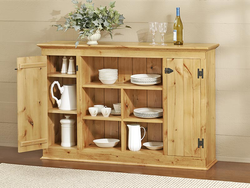 Country Sideboard Cabinet Woodworking Plan