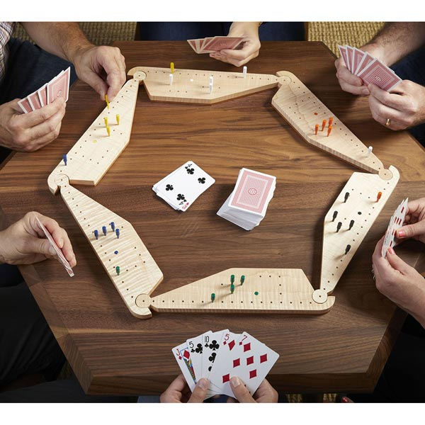 Pegs and Jokers Game Board Woodworking Plan