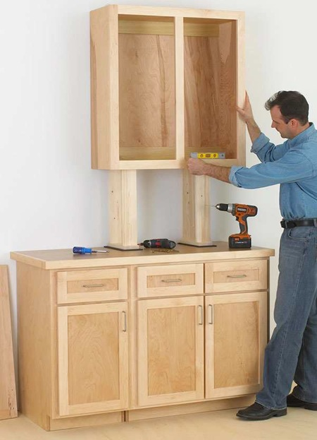 Make Cabinets the Easy Way Woodworking Plan.