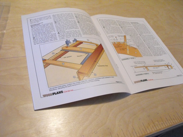 31-OFS-1016 - Adirondack Rocker Settee Woodworking Plan.