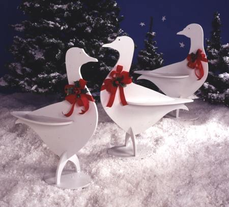 Holiday Honkers Full Size Woodworking Plan.