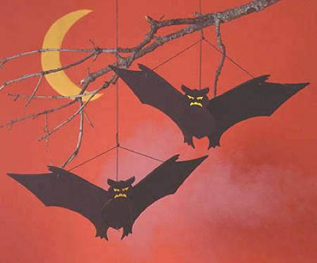 Going Batty Yard Art Woodworking Plan