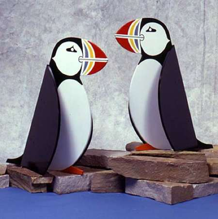 Puffins By The Pair Woodworking Plan.