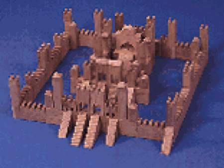 Building Block Castle Woodworking Plan