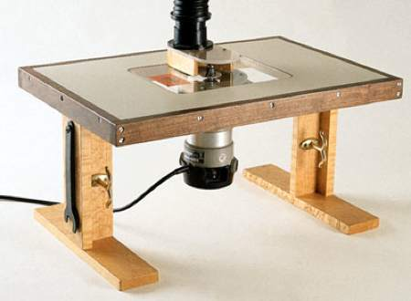 Benchtop Router Table Ii Woodworking Plan Woodworkersworkshop
