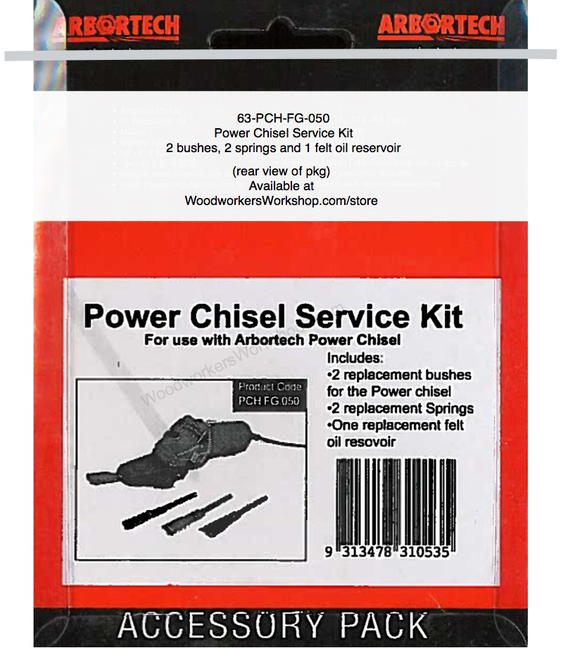 Power Chisel Service Kit for Arbortech Power Chisel