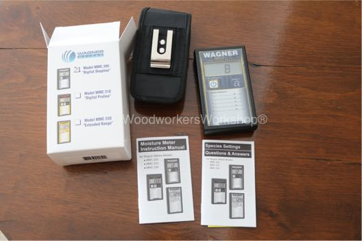 Wagner Moisture Meter Digital Shopline Model MMC205