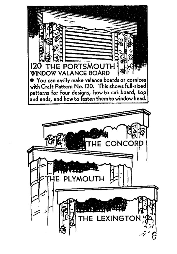 R-ANH0120 - Cornice Vintage Woodworking Plans