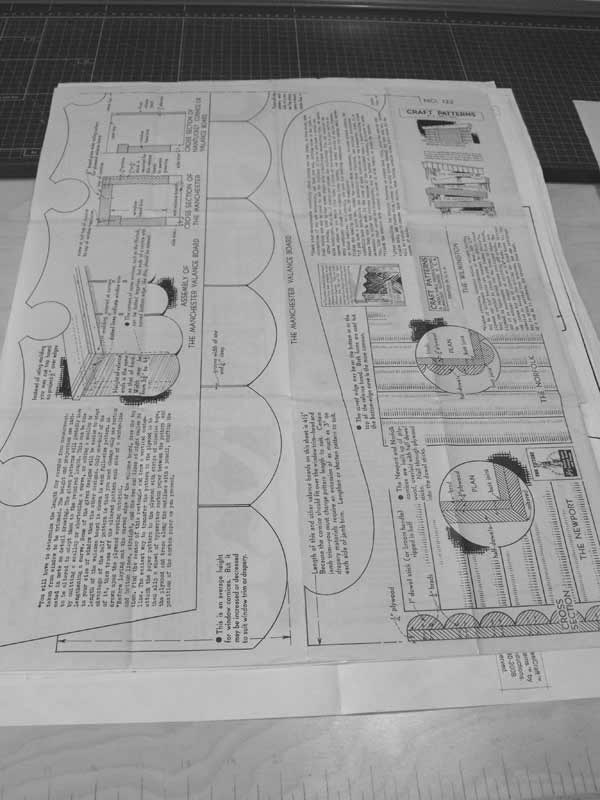 R-ANH0122 - Valance Boards Vintage Woodworking Plans