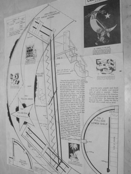Stairway to the Stars Vintage Woodworking Plan.