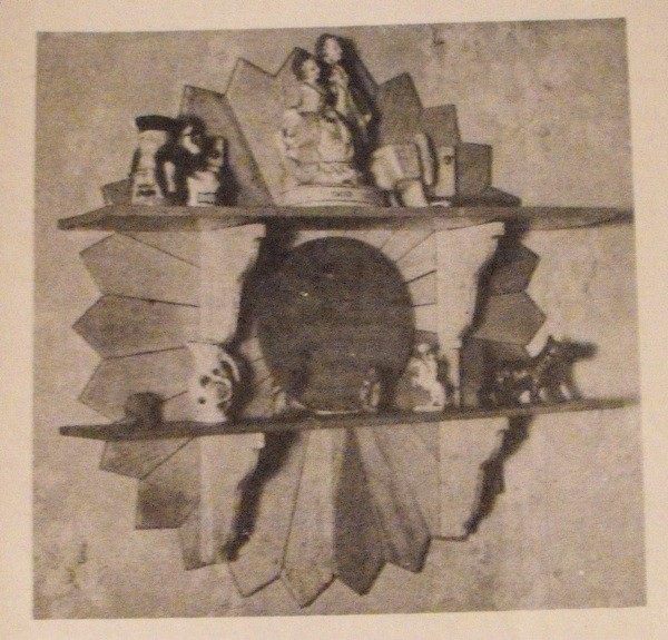 R-ANH0135 - Sunburst Shelves Vintage Woodworking Plan