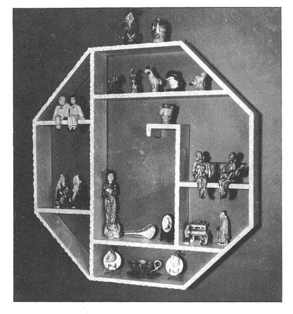 Octagonal Shadow Box Vintage Woodworking Plans