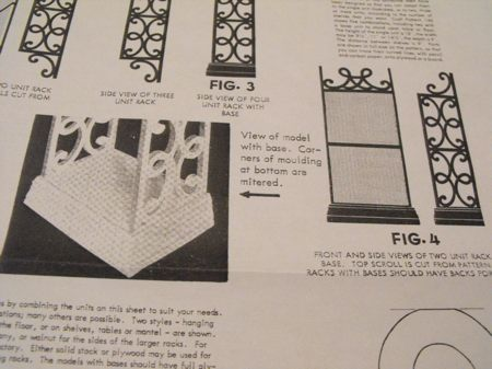R-ANH0146 - Scroll Shelves Vintage Woodworking Plan