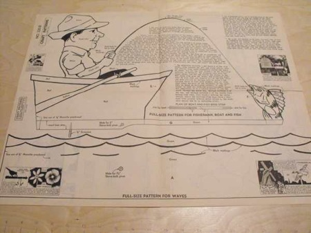 R-ANH0220 - Fisherman Windmill Vintage Woodworking Plan.