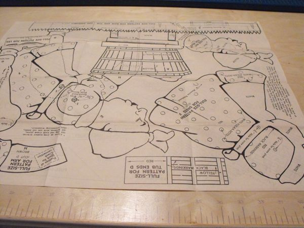 R-ANH0221 - Washwoman Windmill Vintage Woodworking Plan.