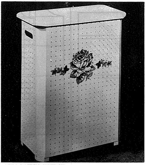 Clothes Hamper Vintage Woodworking Plan woodworking plan