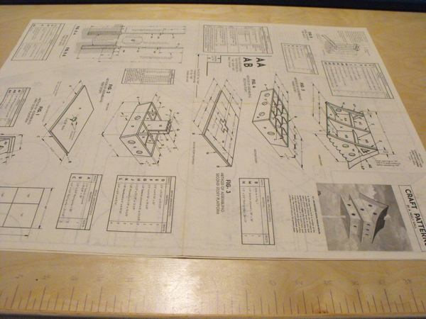 R-ANH0311 - An 18 Room Martin Colony Birdhouse Vintage Woodworking Plan.