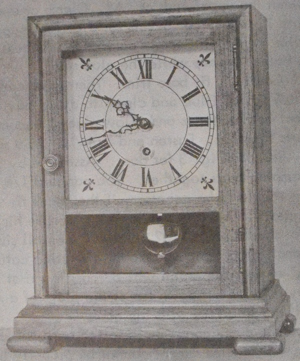 Connecticut Mirror Clock Vintage Woodworking Plan