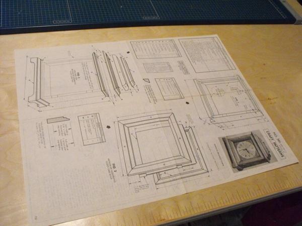 R-ANH0361 - Halifax Bracket Clock Vintage Woodworking Plan. - WoodworkersWorkshop® Online Store