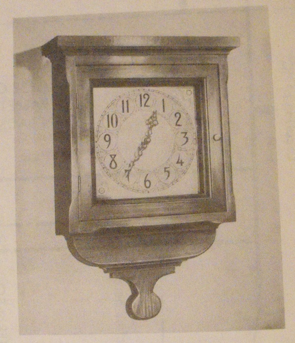 Colonial Wall Clock Vintage Woodworking Plan