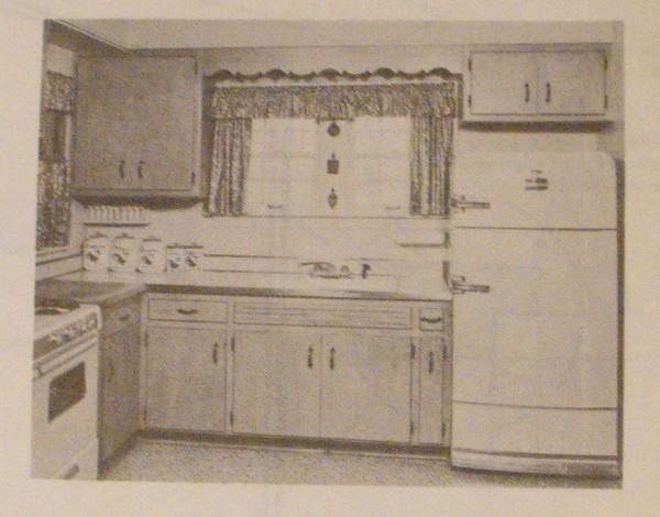 R-ANH0384 - Offset Doors Keep Cabinets Dust Free Vintage Woodworking Plan.