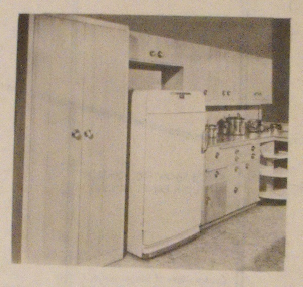 A Utility Kitchen Cabinet Vintage Woodworking Plan