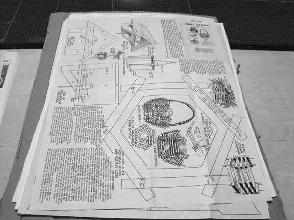 R-ANH0426 - Plant Baskets Vintage Woodworking Plan
