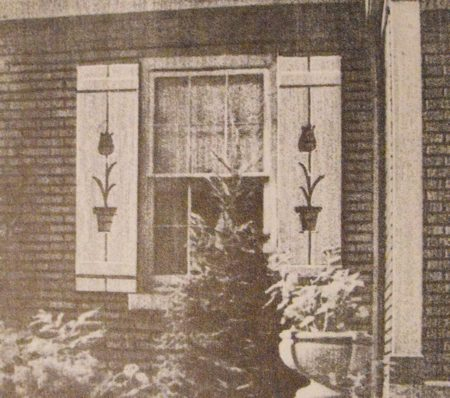 5 Window Shutters Vintage Woodworking Plan.