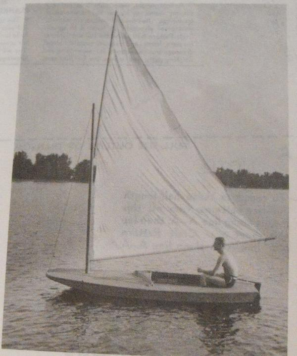 12 ft Sailboat with Marconi Rig Vintage Woodworking Plan