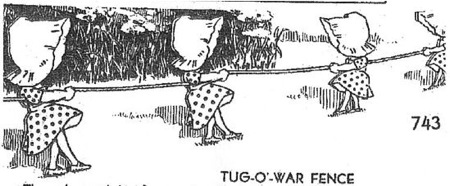 Tug-O-War Vintage Woodworking Plan