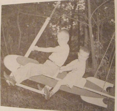 R-ANH0757 - Rocket Swing Vintage Woodworking Plan