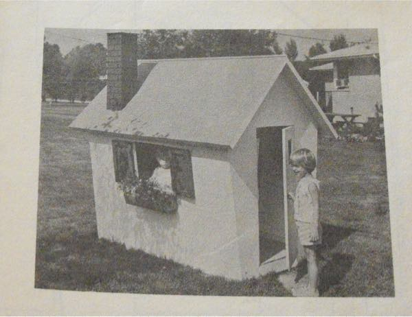 Fun Playhouse Vintage Woodworking Plan