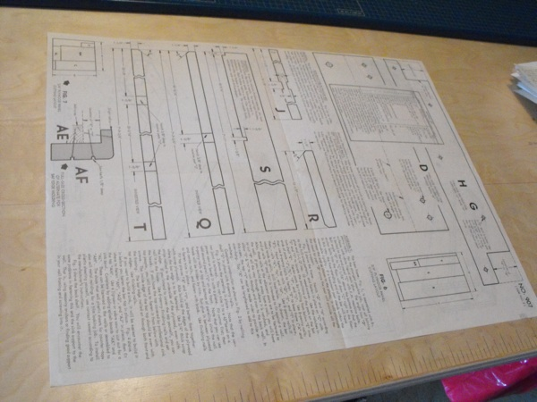 R-ANH0907 - Quick-To-Build Plywood Bar Vintage Woodworking Plan