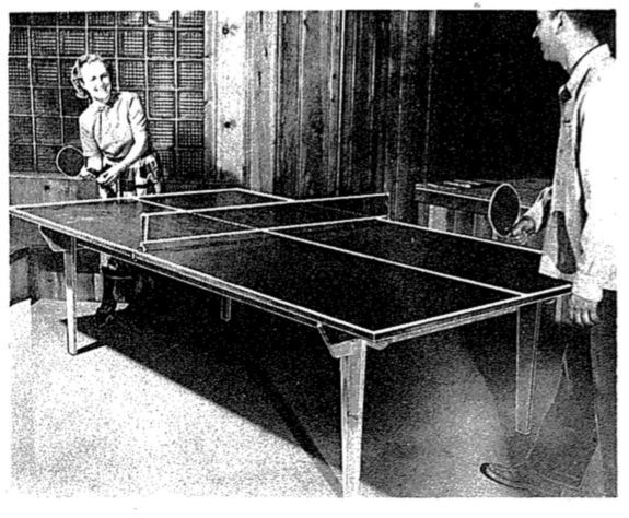Tennis Table Vintage Woodworking Plan woodworking plan