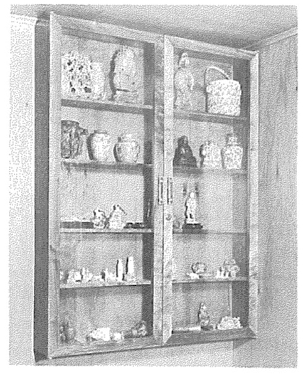 Curio Cabinet Vintage Woodworking Plan.