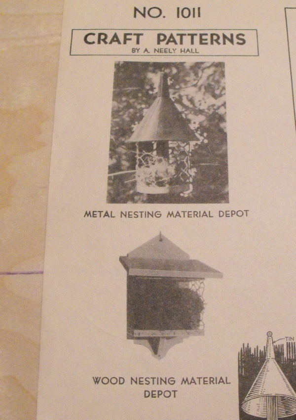 2 Nesting Material Depots Vintage Woodworking Plan