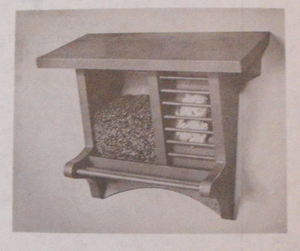 R-ANH1061 - A Unique Easy to Fill Bird Feeder Vintage Woodworking Plan