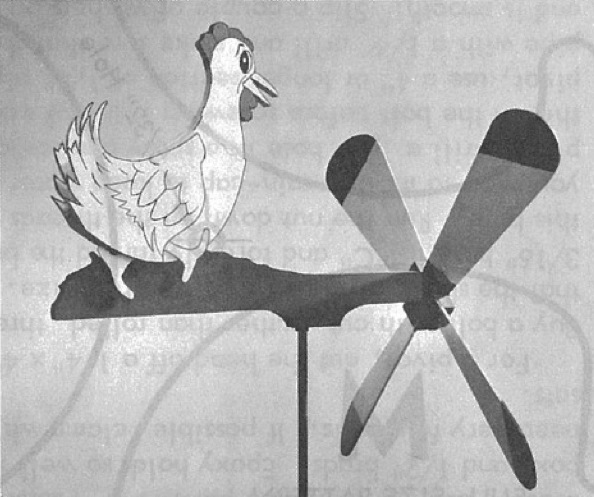 R-ANH1078 - Quick Chick Windmill Vintage Woodworking Plan.
