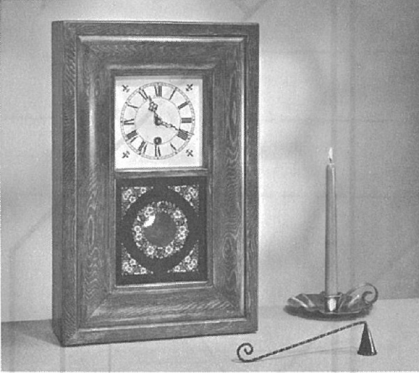 R-ANH1086 - O G Clock Vintage Woodworking Plan