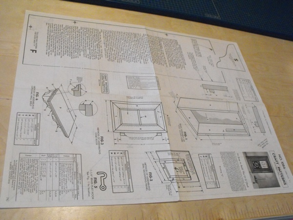 O G Clock Vintage Woodworking Plan