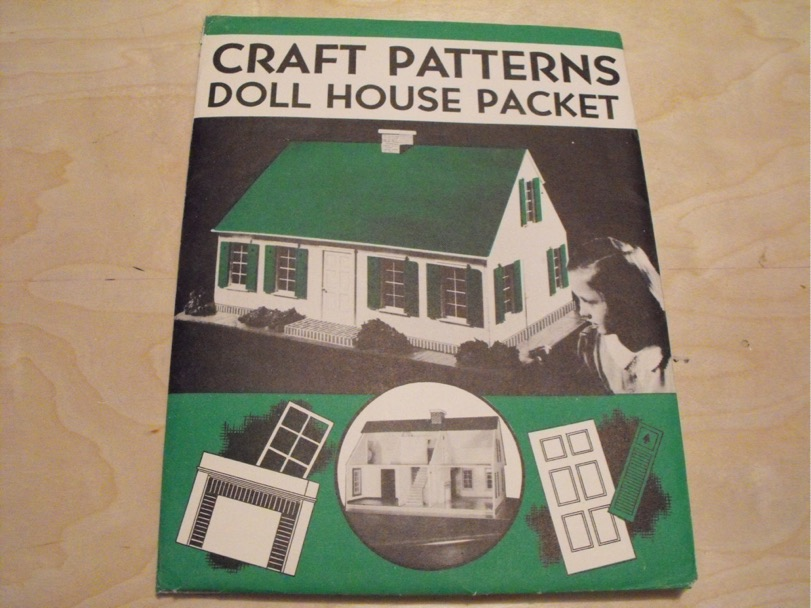 R-ANH1111 - Cape Cod Doll House Vintage Woodworking Plan